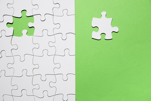 Last Piece Puzzle Missing Green Background Complete Mission 23 2148207333